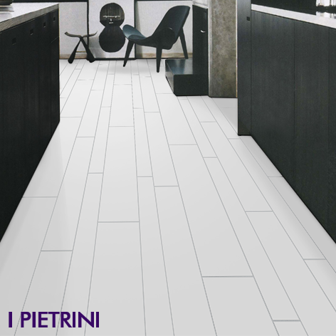 Plank kitchen living floor I Pietrini